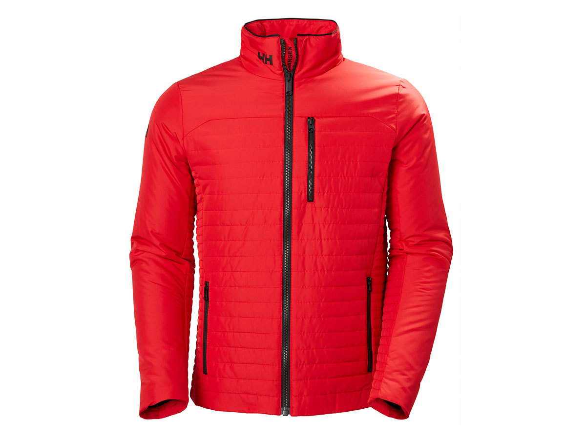Helly Hansen CREW INSULATOR JACKET - ALERT RED - XXL (54344_222-2XL )