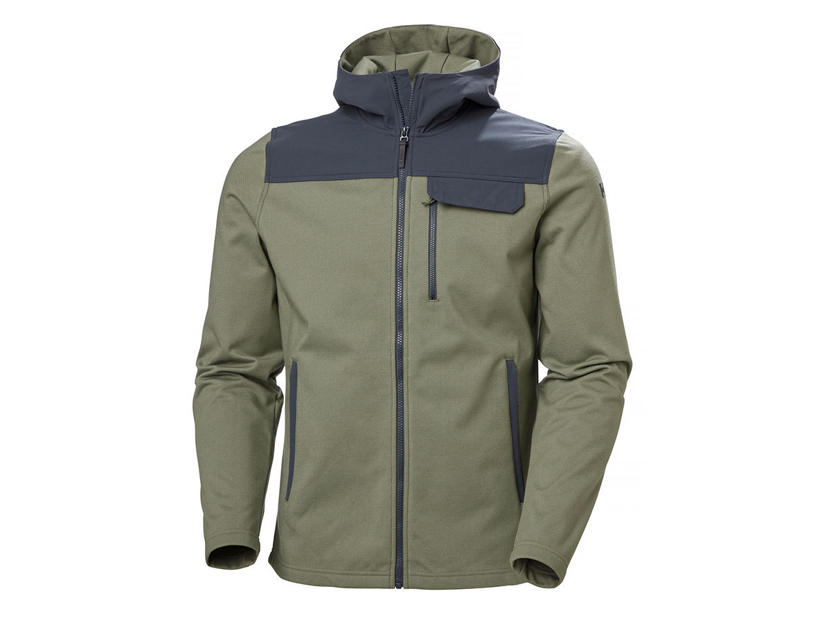Helly Hansen VANERN MIDLAYER - LAV GREEN - L (51852_421-L )