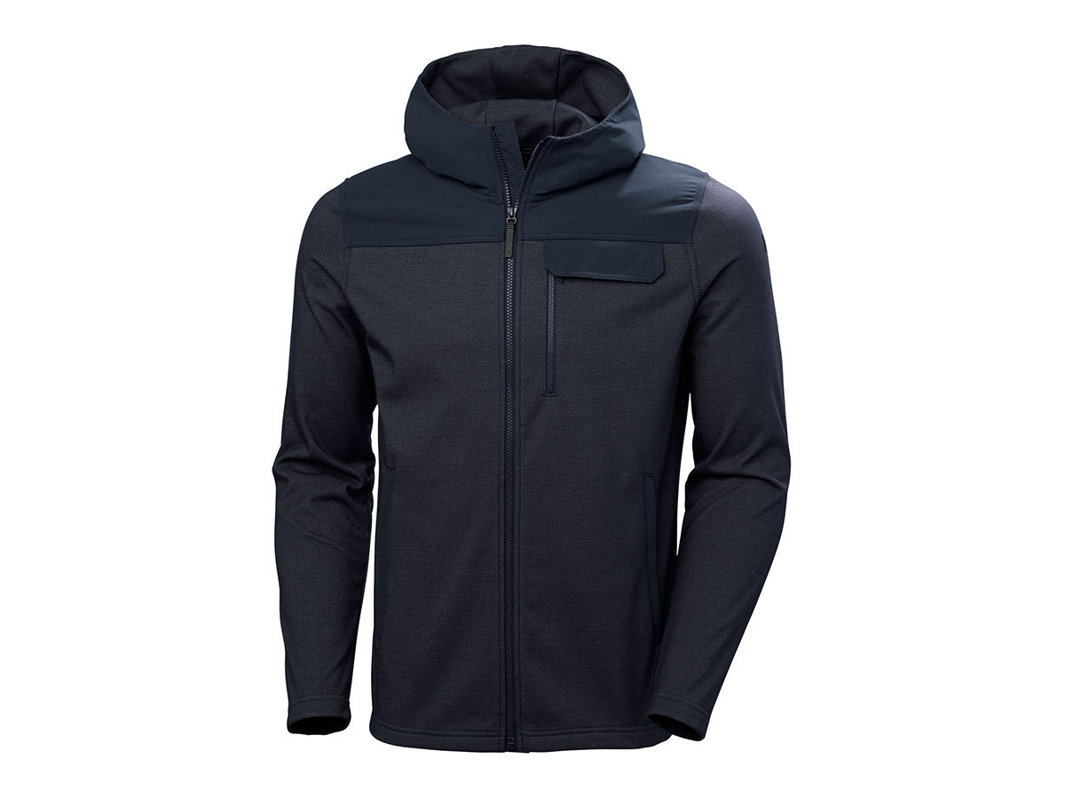 Helly Hansen VANERN MIDLAYER - NAVY - L (51852_597-L )