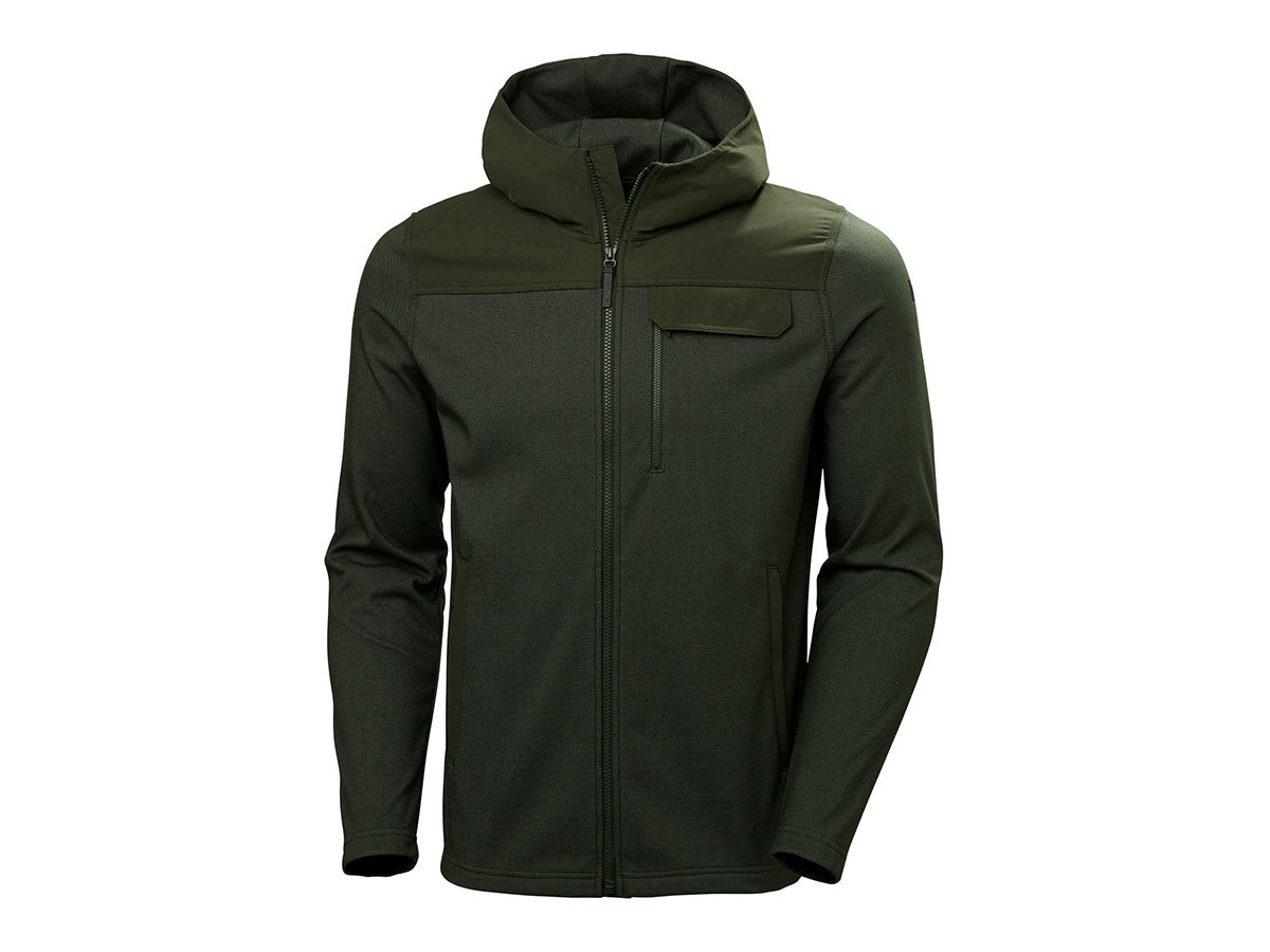Helly Hansen VANERN MIDLAYER - FOREST NIGHT - S (51852_469-S )