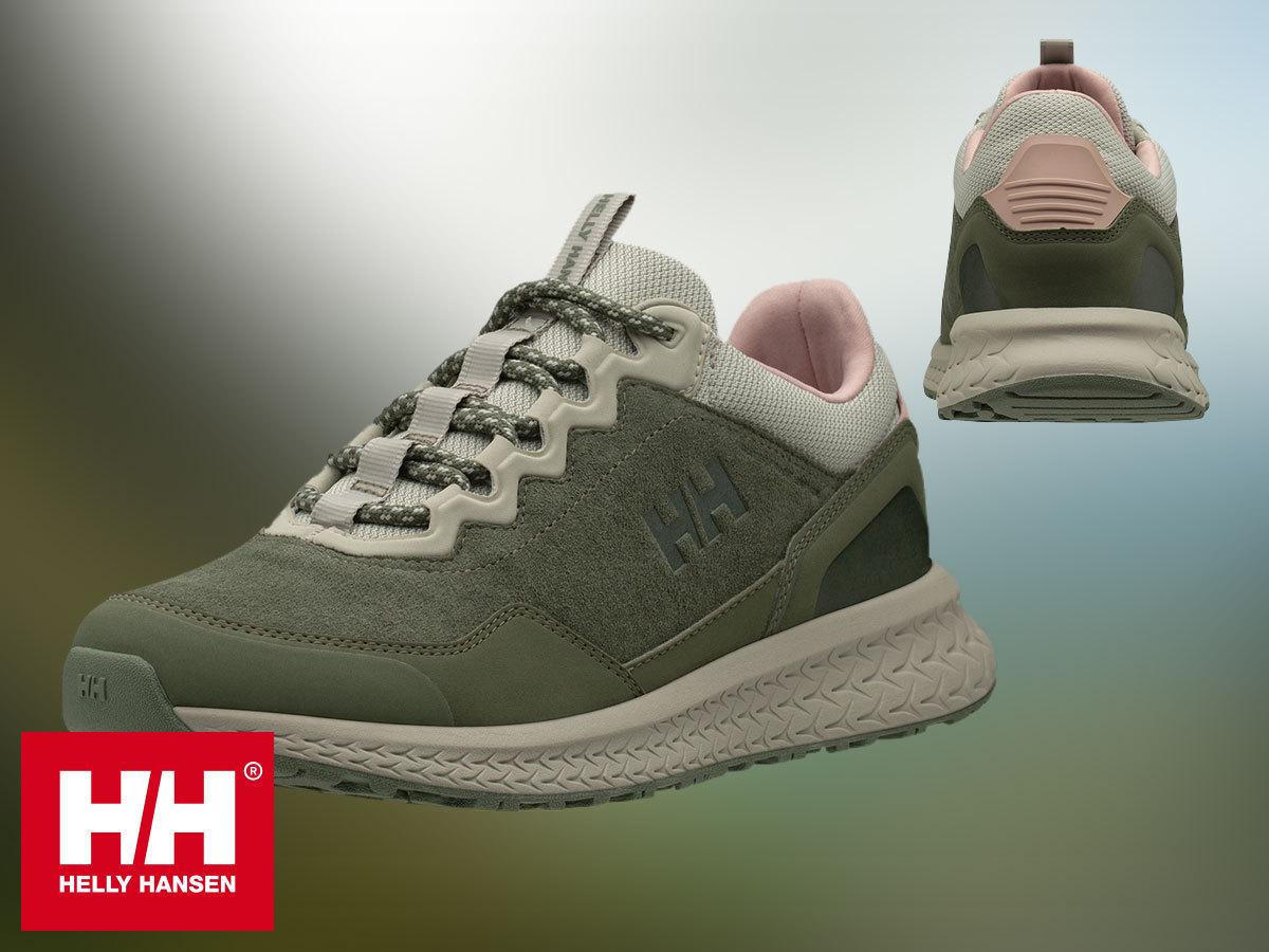 Helly Hansen W TAMARACK stílusos női nubuk bőr sneaker cipő téli védelemmel, EVA talpbetéttel