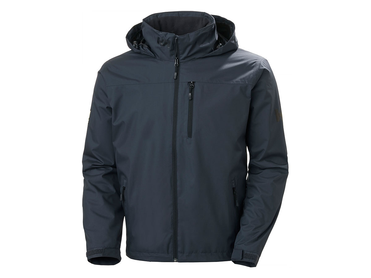 Helly Hansen CREW HOODED MIDLAYER JACKET - SLATE - S (33874_983-S )