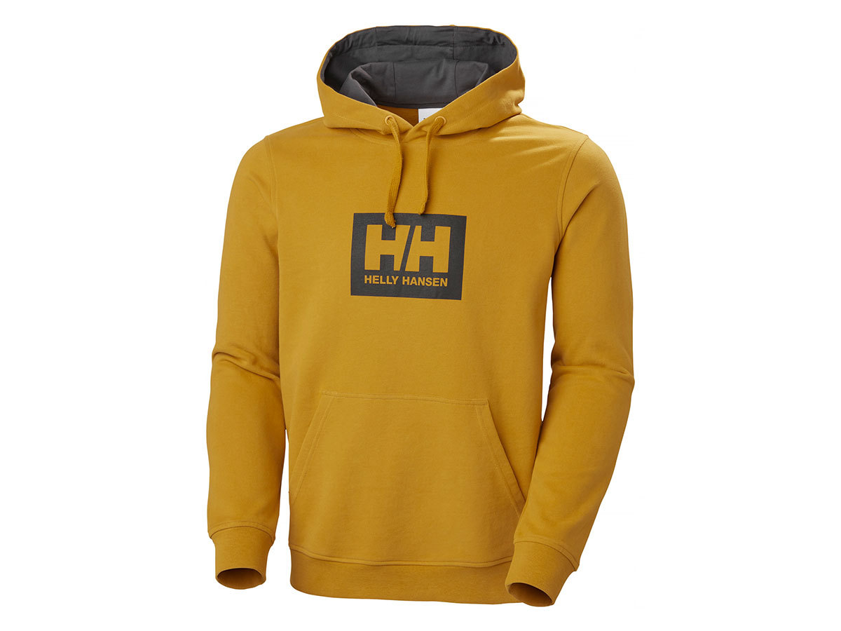 Helly Hansen HH BOX HOODIE - ARROWWOOD - XXL (53289_349-2XL )
