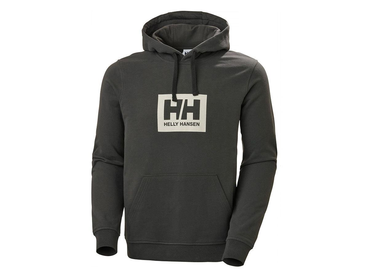 Helly Hansen HH BOX HOODIE - BELUGA - XXL (53289_482-2XL )