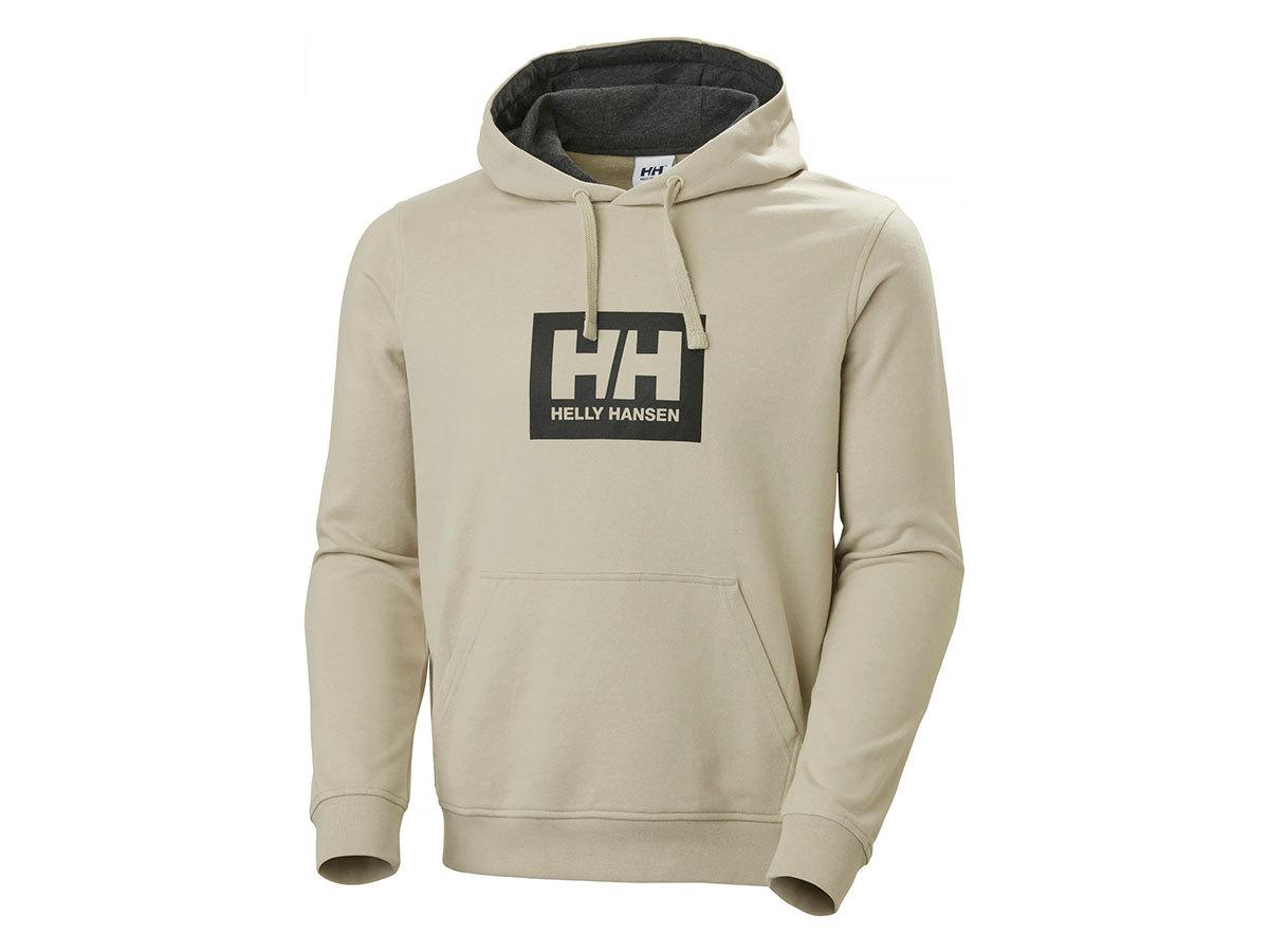 Helly Hansen HH BOX HOODIE - PELICAN - L (53289_857-L )