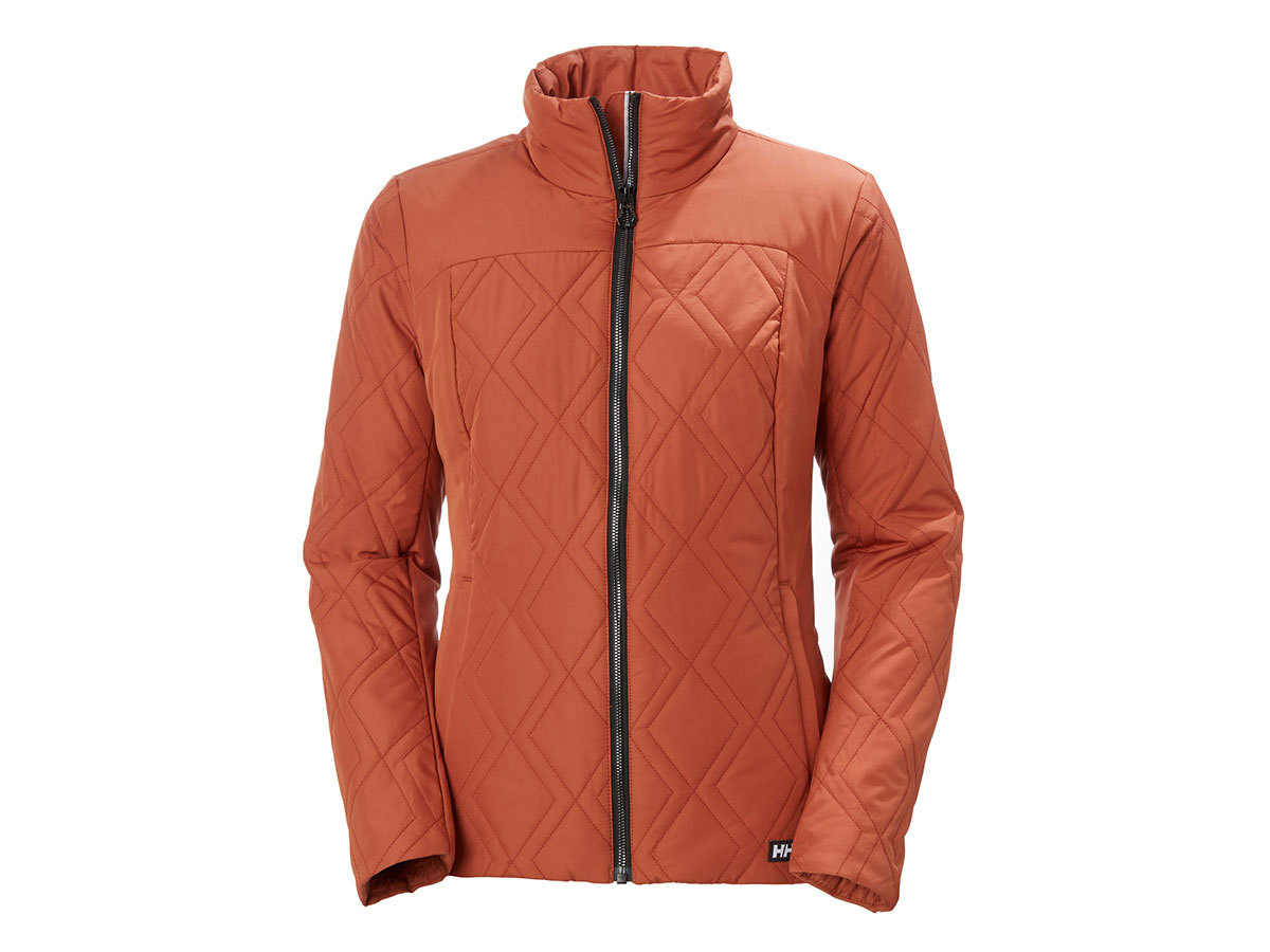 Helly Hansen W CREW INSULATOR JACKET - CANYON RED - L (34071_782-L )