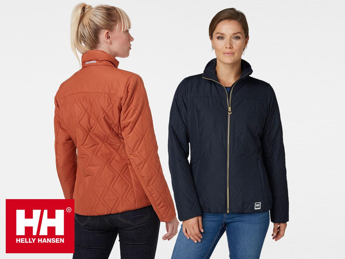 Helly Hansen W CREW INSULATOR JACKET női dzseki időtlen dizájnnal - víztaszító, szélálló