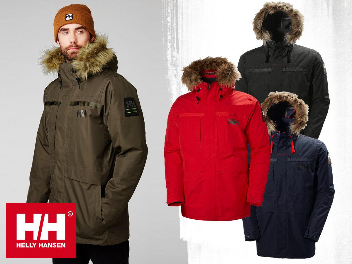 Helly Hansen COASTAL 2 PARKA kapucnis férfi kabát a hűvös, borongós napokra - vízálló, szélálló, lélegző, akár 30% kedvezménnyel