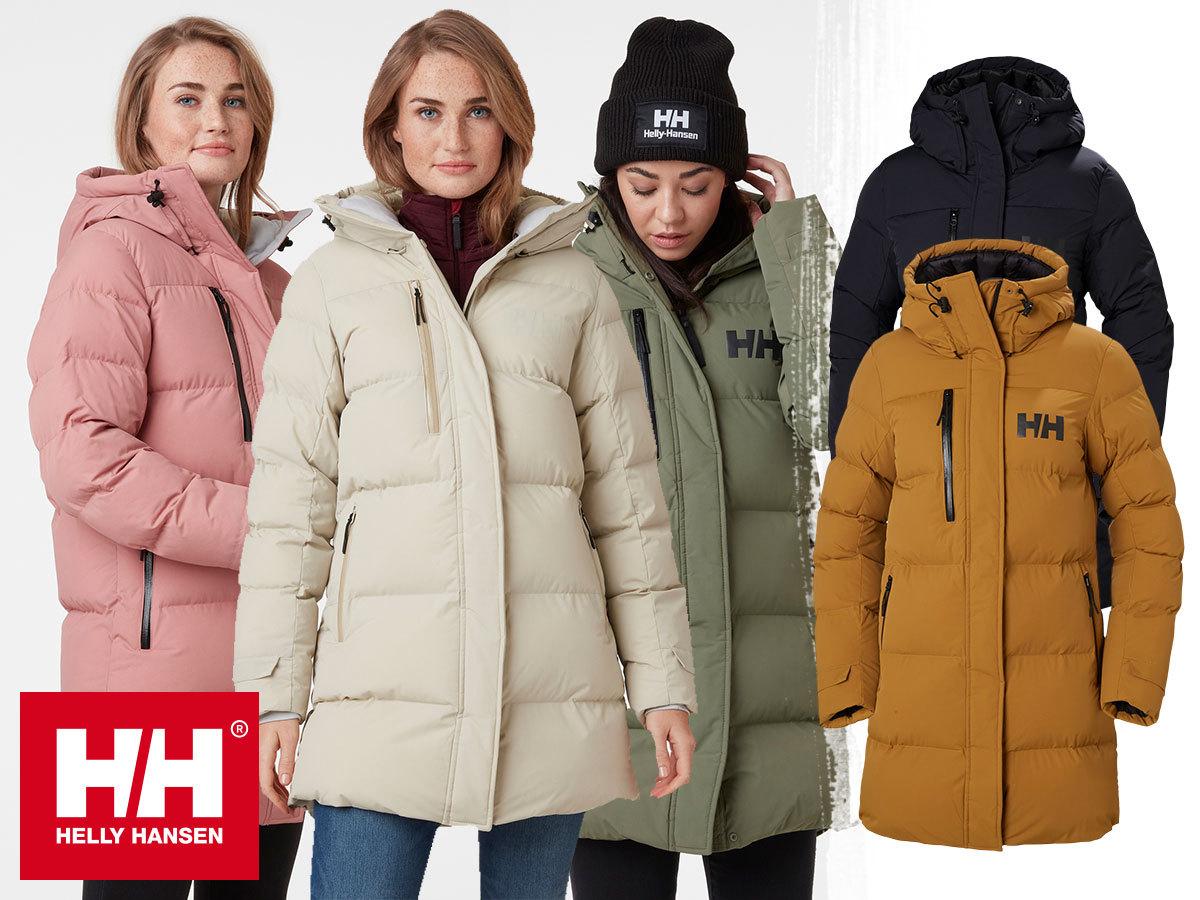 Helly Hansen W ADORE PUFFY PARKA női kabát szintetikus szigeteléssel, víztaszító kezeléssel (XS-XL)