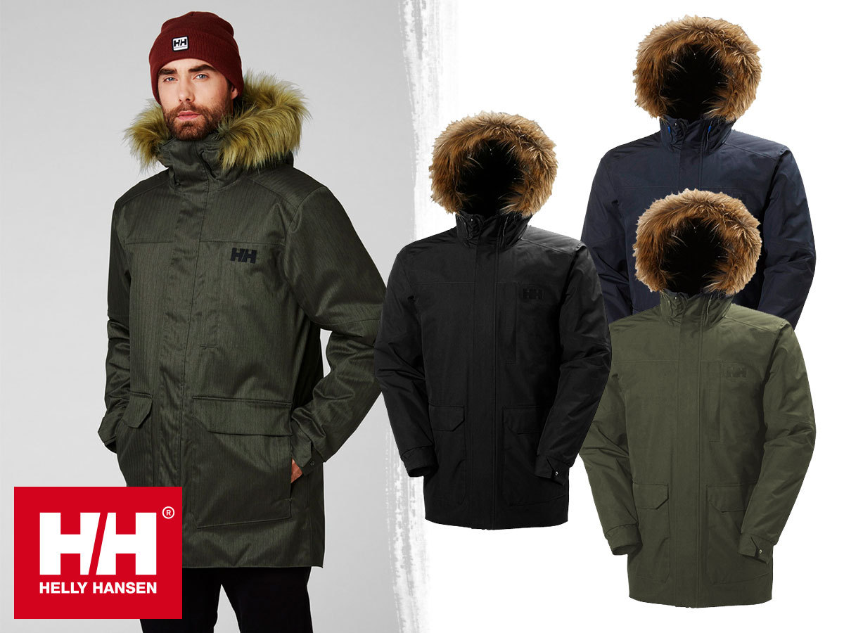Helly Hansen DUBLINER PARKA prémium férfi kabát, vízálló, szélálló és lélegző kialakítással