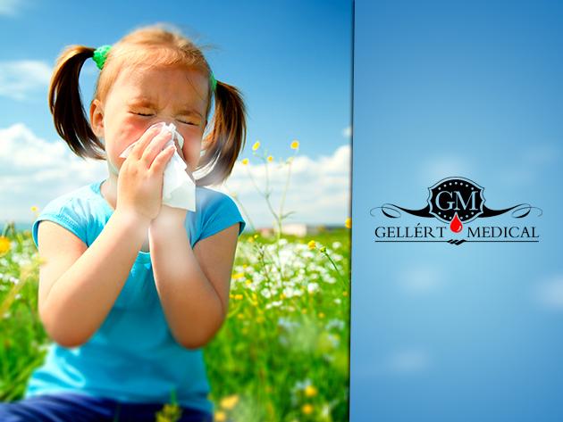 Átfogó allergia vizsgálat - Étel /nutritív/ panel csomag 20 allergénnel a Gellért Medical-ban!