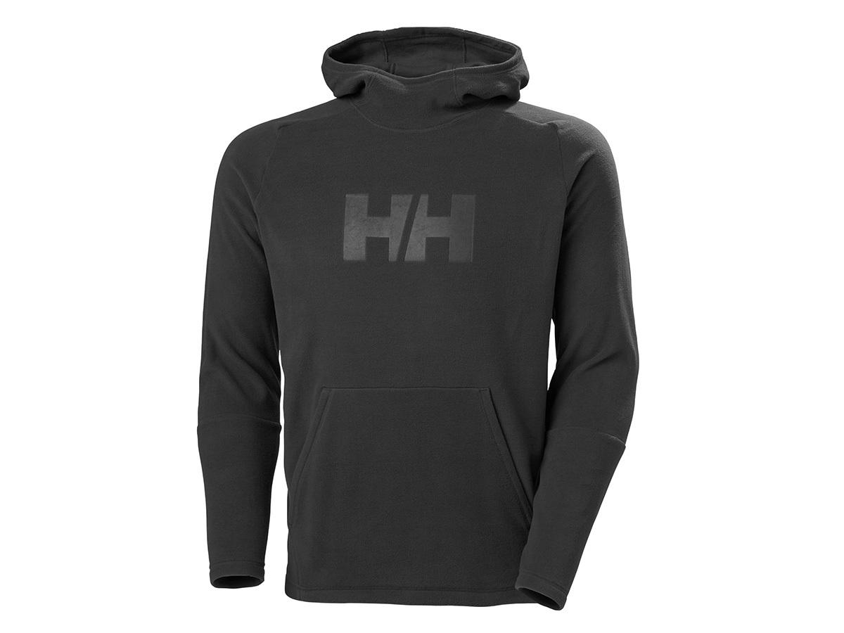 Helly Hansen DAYBREAKER LOGO HOODIE - BLACK - XXL (51893_990-2XL )