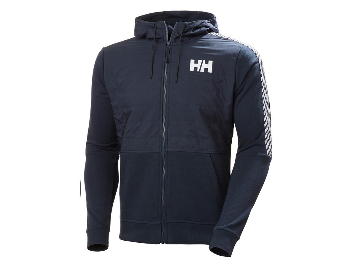 Helly Hansen STRIPE HYBRID JACKET - NAVY - XL (53525_597-XL )