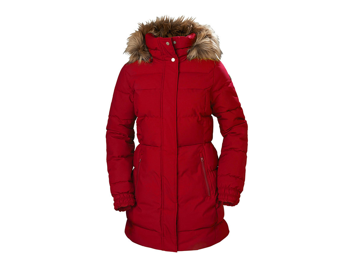 Helly Hansen W BLUME PUFFY PARKA - RED - M (54430_162-M )