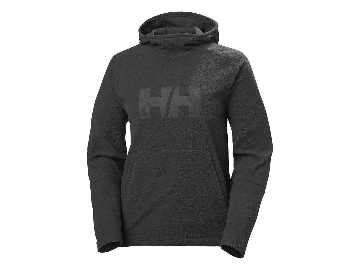 Helly Hansen W DAYBREAKER LOGO HOODIE - BLACK - L (51894_990-L )