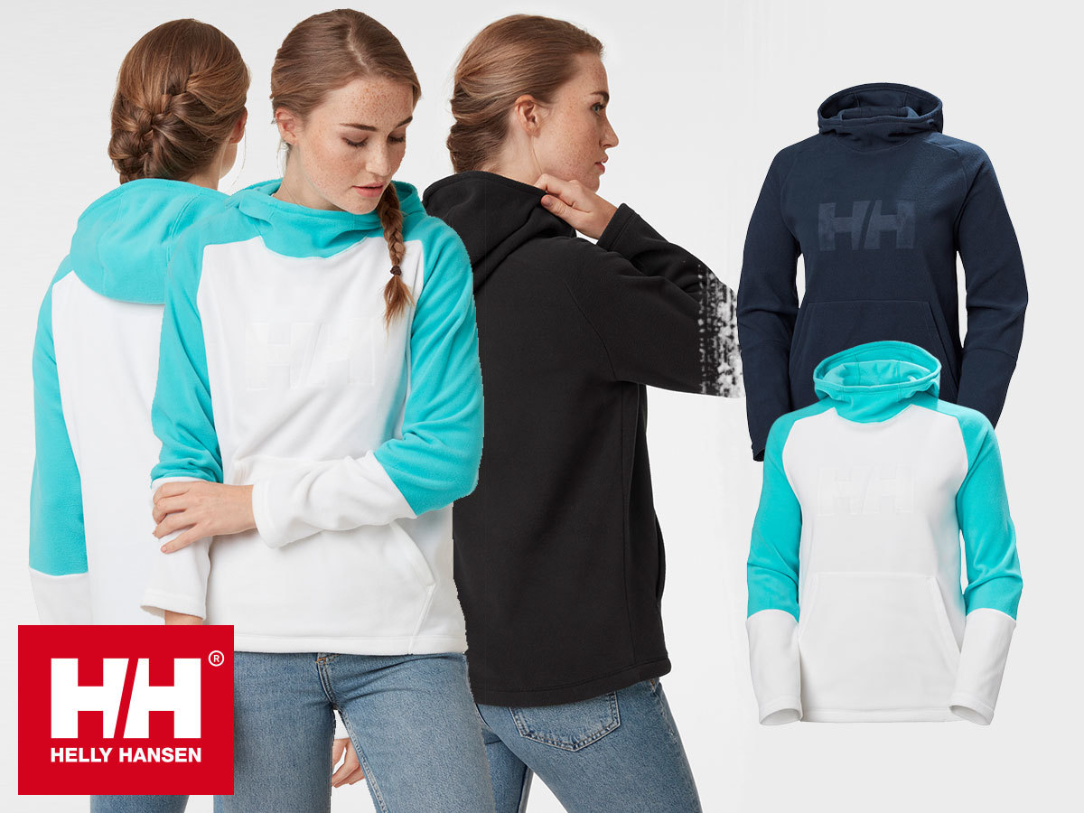 Helly Hansen W DAYBREAKER LOGO HOODIE női kapucnis polár pulóver -  sokoldalú, kényelmes viselet