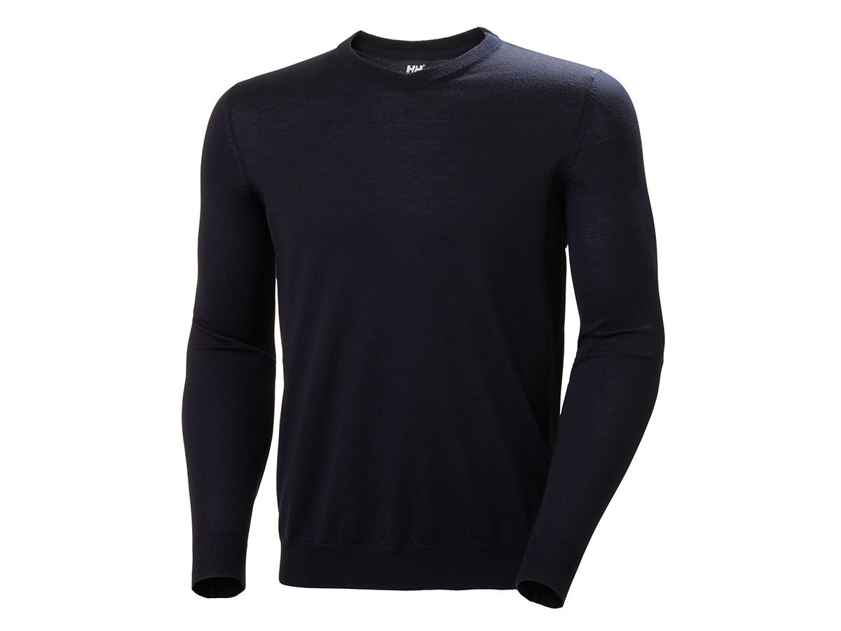 Helly Hansen SKAGEN MERINO SWEATER - NAVY - M (33997_598-M )