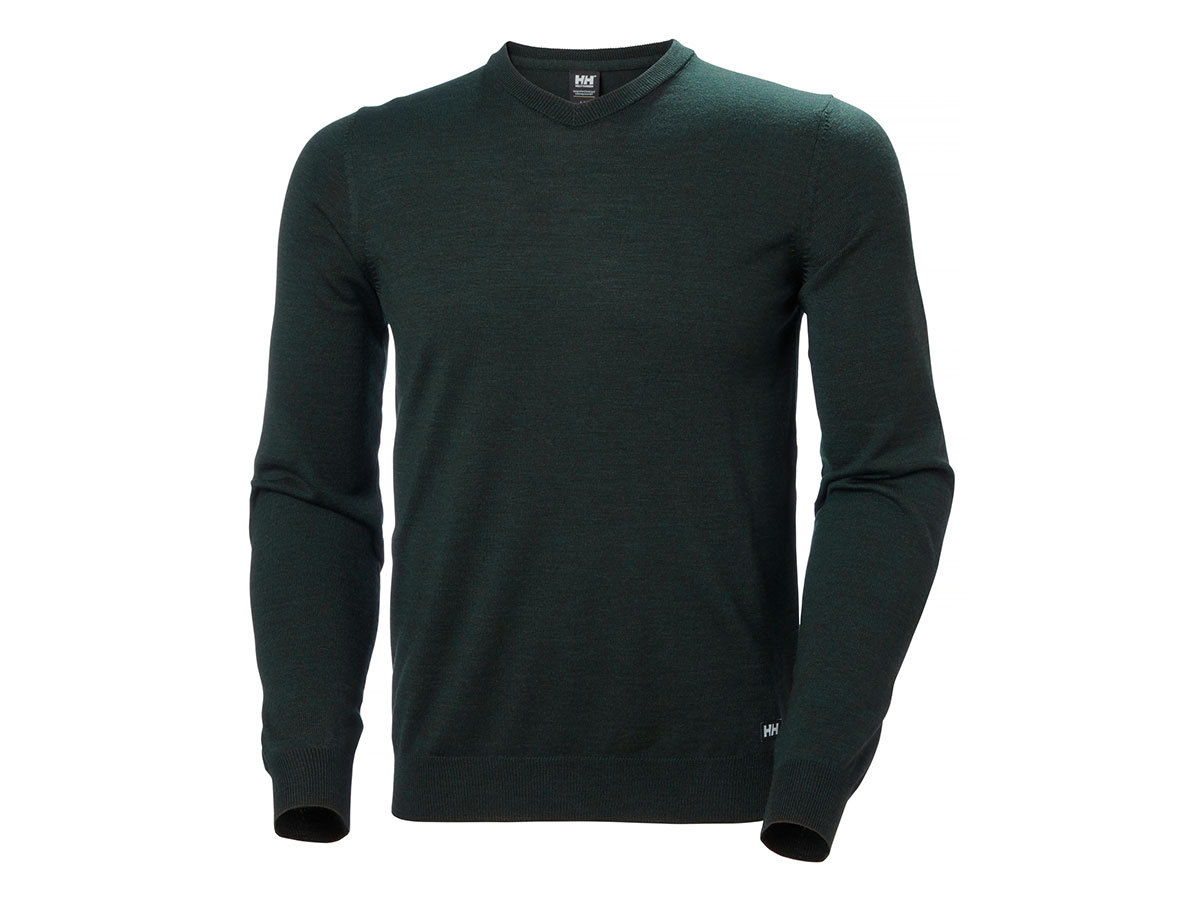 Helly Hansen SKAGEN MERINO SWEATER - SCARAB GREEN - M (33997_488-M )