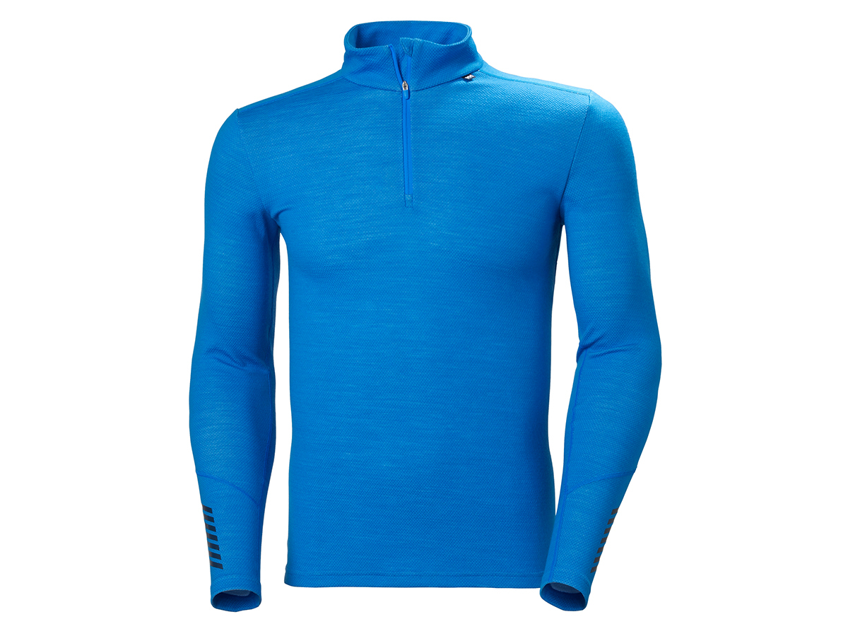 Helly Hansen LIFA MERINO MIDWEIGHT 1/2 ZIP - ELECTRIC BLUE - XL (49363_639-XL ) - AZONNAL ÁTVEHETŐ