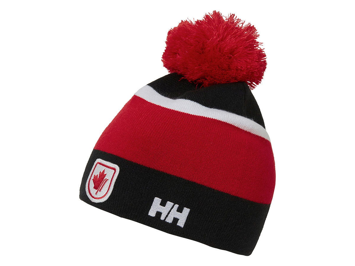 Helly Hansen SKI TEAM BEANIE - CAN RED - STD (67449_221-STD )