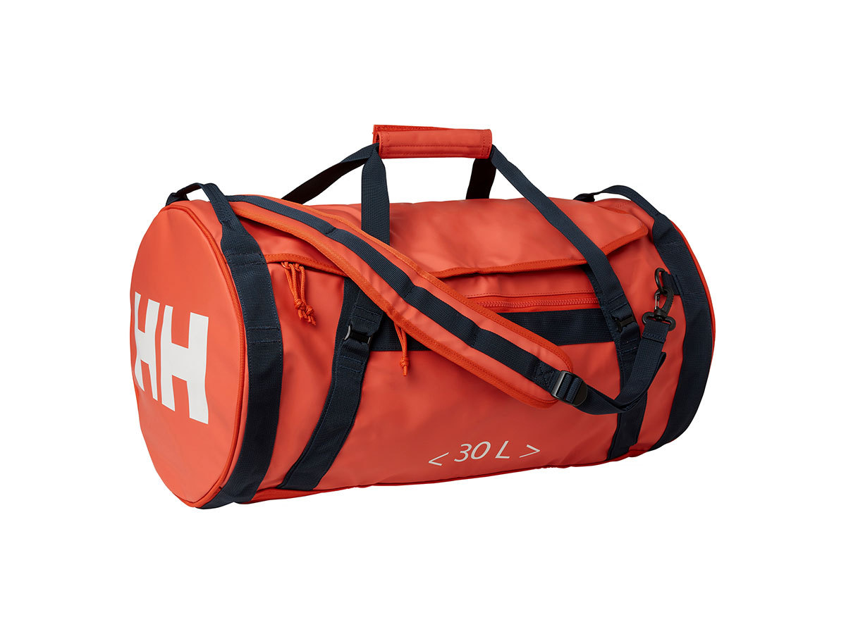 Helly Hansen HH DUFFEL BAG 2 30L - PATROL ORANGE - STD (68006_300-STD )