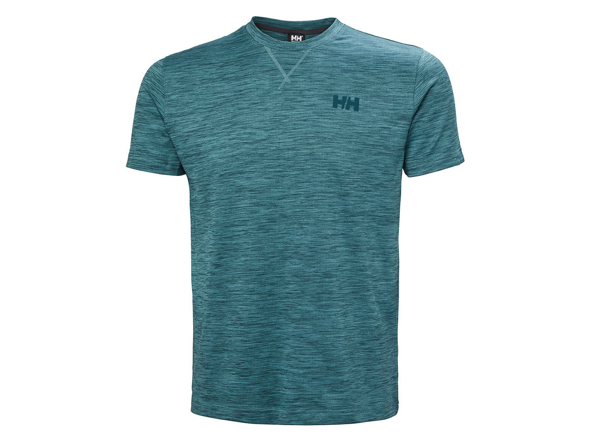 Helly Hansen VERGLAS GO T-SHIRT - NORTH TEAL BLUE - XXL (62949_516-2XL )