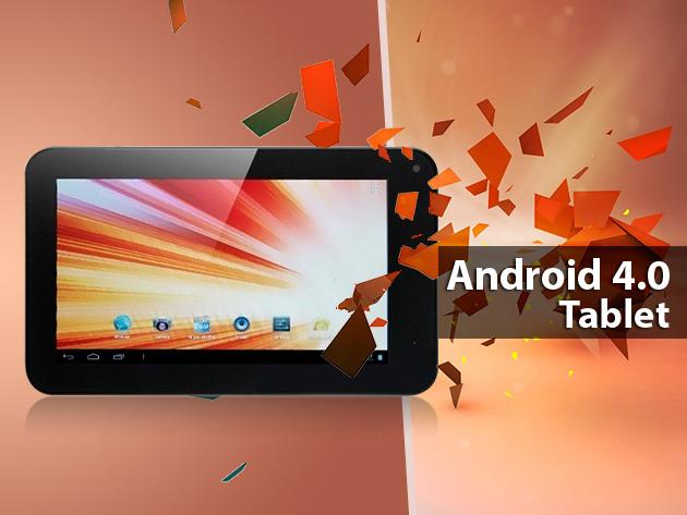 Legyen neked is egy szuper Android 4.0-ás tableted  56.990 Ft helyett csak 30.490 Ft-ért!