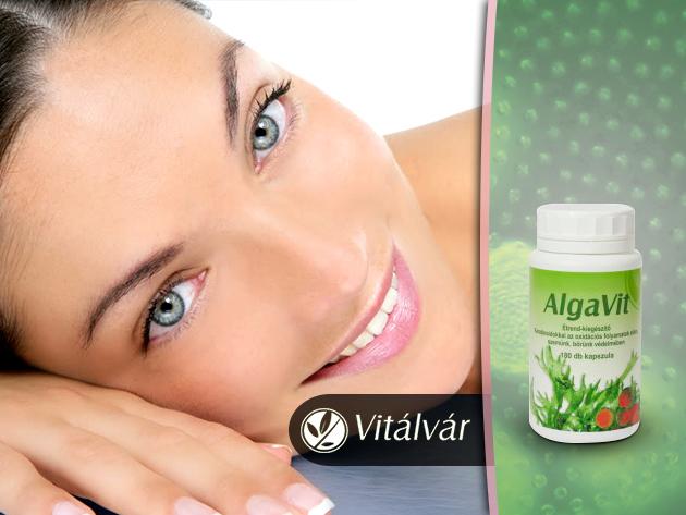 Fogyjon, szolizzon és lúgosítson az asztaxantin erejével, a 180 darabos AlgaVittel!