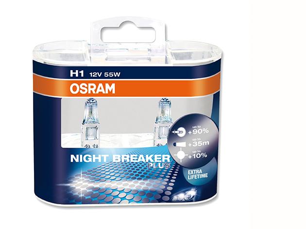 Osram night breaker plus H1 (2 db izzó)