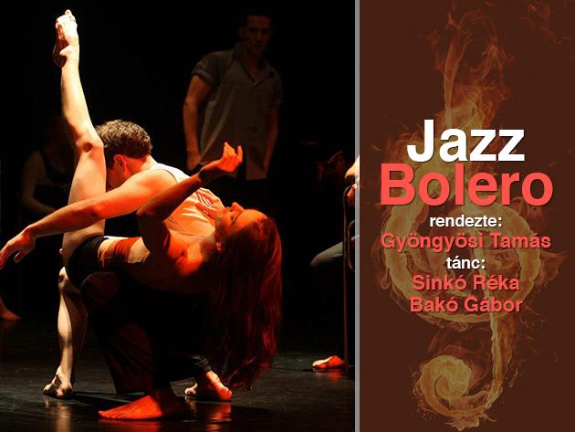 Páros jegy Jazz/Bolero-ra a Kontúr Fizikai Színház előadásában, 3.000 Ft helyett 2.200 Ft-ért!