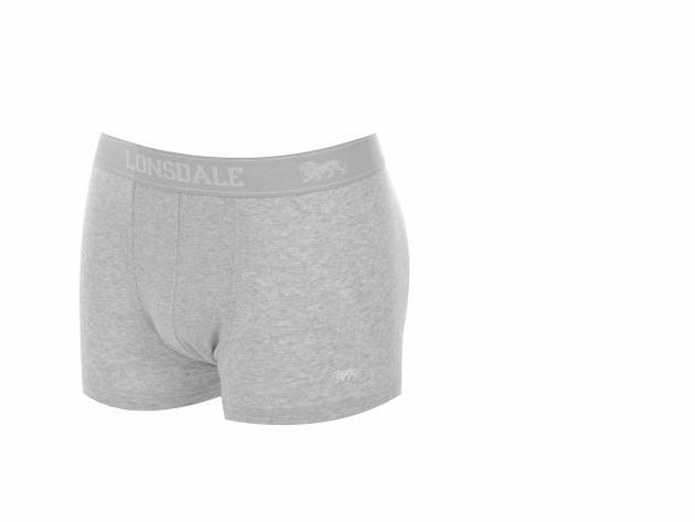 2 db Lonsdale férfi alsónadrág - szürke