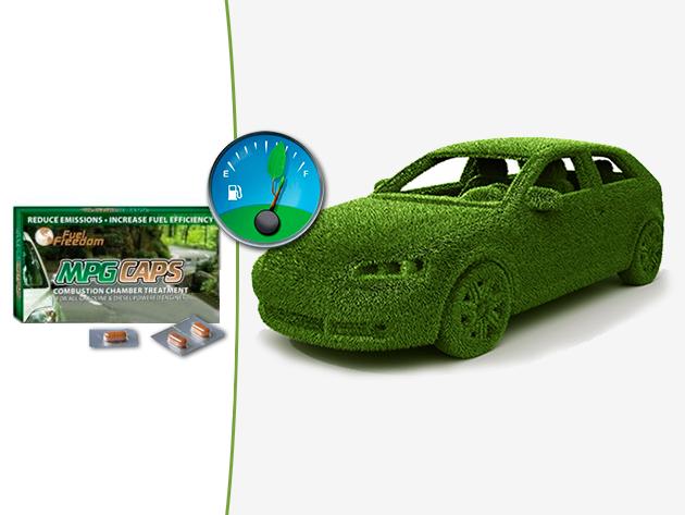Autózz takarékosabban az MPG CAPS égéstér kezelő katalizátor segítségével - minden benzin és dízelmotorhoz!