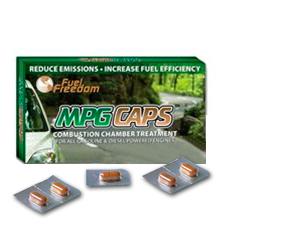 MPG CAPS  égéstér kezelő katalizátor minden benzin és dízelmotorhoz. 5 tabletta ami kb. 500 literhez elegendő