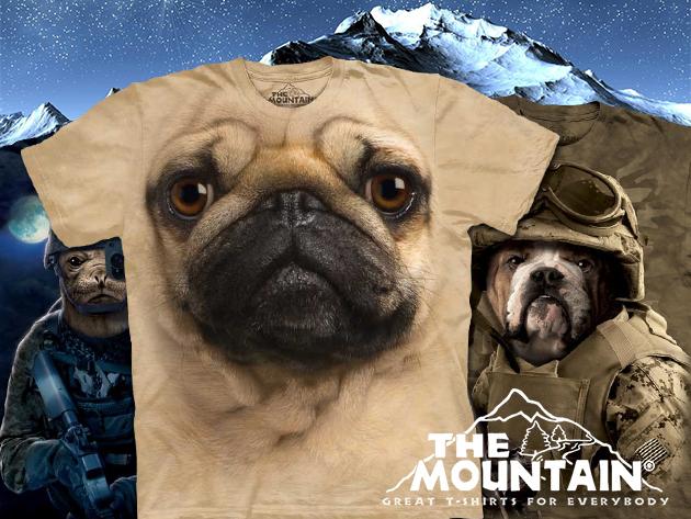 Eredeti amerikai, környezetbarát 'Mountain' pólók oldalvarrás nélkül 6.590 Ft helyett 3.950 Ft-ért!