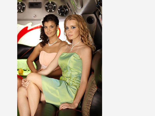 Olasz koszorúslány ruhák, zöld vagy barack színben (Kölcsönzés)