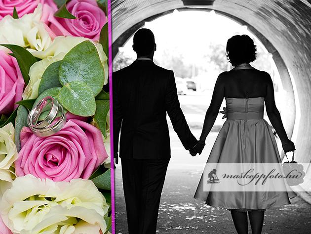 Fénykép másképp, az élet egyik legszebb pillanatáról: az esküvődről.