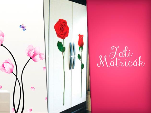 Dobd fel lakásod falait egyedi, dizájnos, óriás falmatricákkal, már 1.790 Ft-ért!