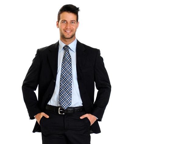 Méretre igazított öltöny, mellény, ing, nyakkendő