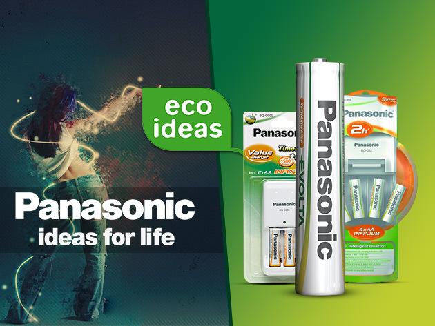 Panasonic gyorstöltők és azonnal használható akkumulátorok verhetetlen áron!