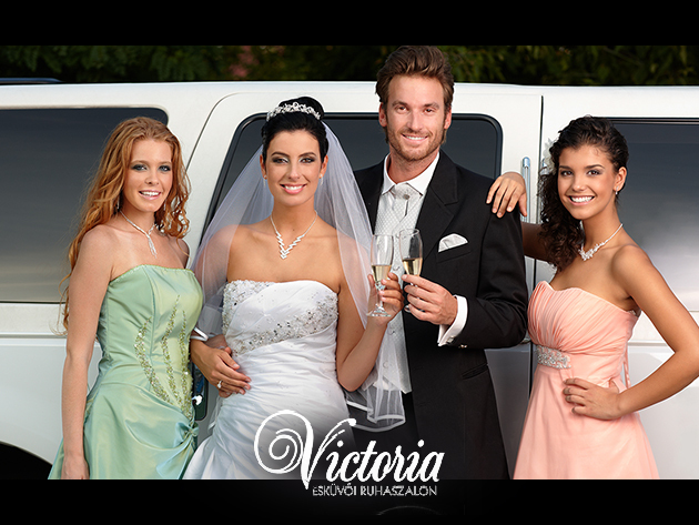 Legyen a tiéd a legszebb esküvői vagy koszorúslány ruha, akár 50% kedvezménnyel!