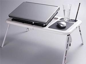 Laptoptartó – hűtő asztal