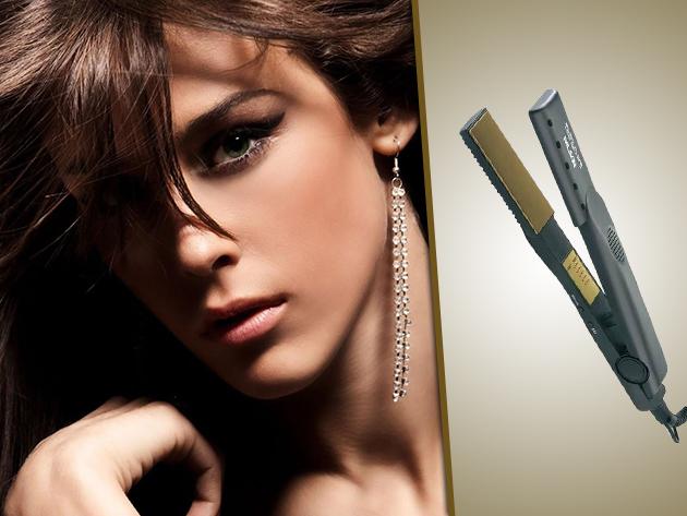 Professzionális hajvasaló titánium bevonattal: Palson Titanium-Pro most fél áron!