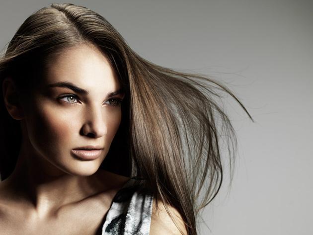 Keratinos hajszerkezet-újraépítés hajvágással együtt