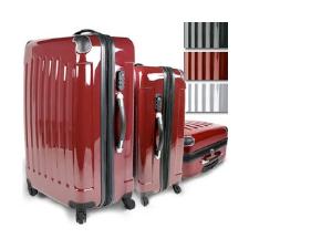 3 darabos poggyász készlet, ABS anyagból, kemény fallal 26.990 Ft