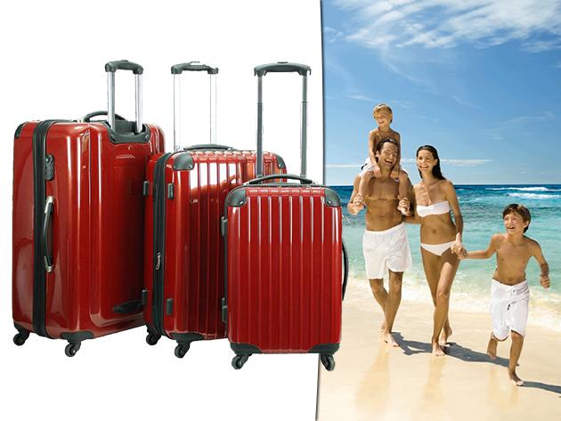 Ultrakönnyű, ABS műanyag bőrönd szettek – a nyaralás elengedhetetlen kellékei!