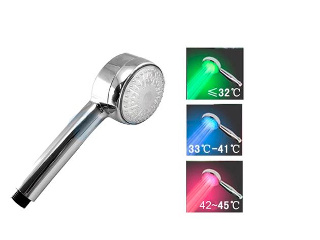 LED-es zuhanyfej