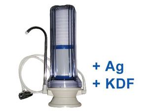 CleanLife asztali víztisztító KDF + Ezüst szűrővel