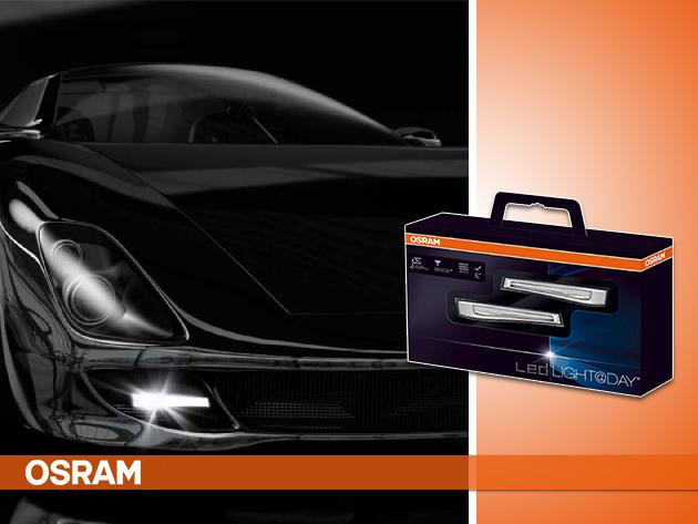 OSRAM LED Light@Day nappali fény az autód láthatóságáért - 49.340 Ft helyett 25.900 Ft-ért!