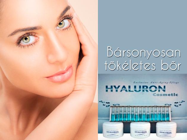 Hyaluron-savas kozmetikai szett a ragyogó, fiatalos arcbőrért 11.990 Ft helyett 5.490 Ft-ért!