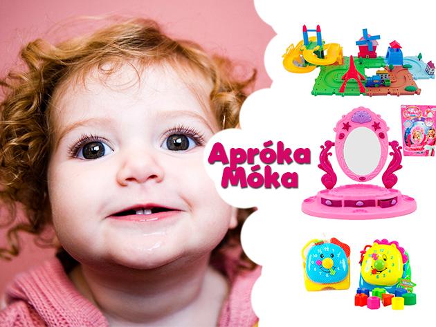Nagy lesz a móka és kacagás, ha Gyermeknapon minőségi játékokkal leped meg a család legkisebb tagját!